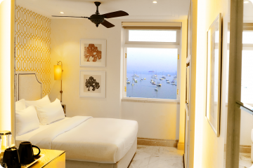 Deluxe Sea Facing Room Hotel Harbour View Mumbai